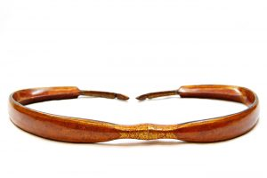 Composite Bow; Wood, horn, & sinew; India; ca. Early 1800s. University of Missouri Grayson Archery Collection MAC1998-0343.