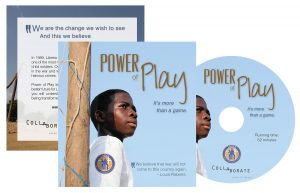 Power of Play Documentary DVD cover and sleeve design. Stephanoff Media
