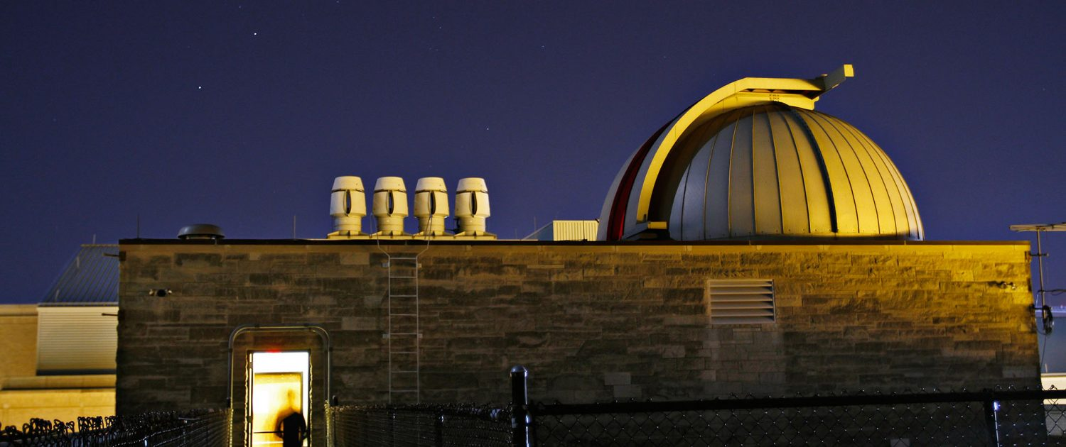 The Laws Observatory at the University of Missouri.