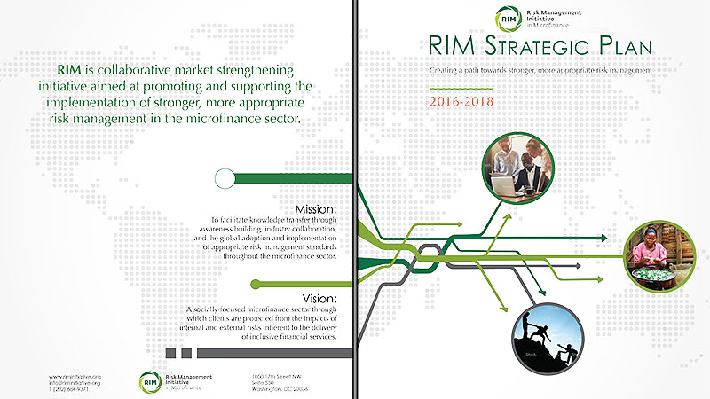 Stephanoff Media design. Risk Management Initiative in Microfinance Strategic Plan.